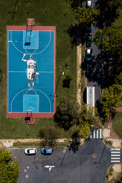 Emanuel Ginobili「Aerial Views Of Buenos Aires During Lockdown」:写真・画像(1)[壁紙.com]
