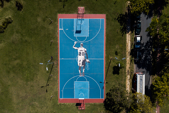 Emanuel Ginobili「Aerial Views Of Buenos Aires During Lockdown」:写真・画像(0)[壁紙.com]