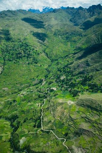 Amazon Rainforest「Aerial view of Amazon rainforest and Andes mountains」:スマホ壁紙(4)