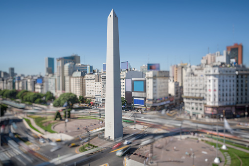 Buenos Aires「Aerial View Buenos Aires Argentina with Obelisco」:スマホ壁紙(19)