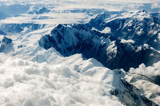 月「パキスタンのカラコルム山脈、アジアの空撮」:スマホ壁紙(0)