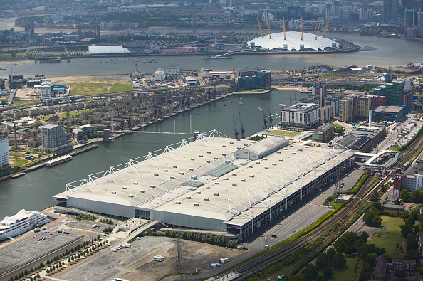 Vitality「Aerial view of the ExCel Exhibition Centre, Royal Victoria Dock and the Millennium Dome London, UK」:写真・画像(9)[壁紙.com]