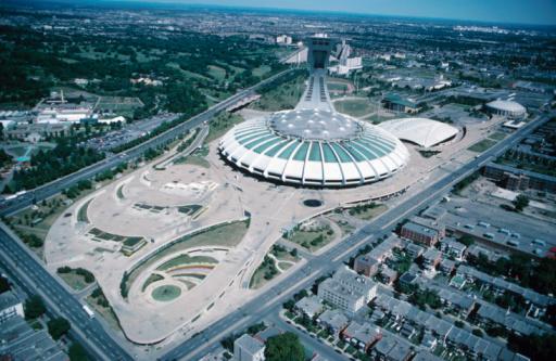 Olympic Stadium「Aerial view of a stadium」:スマホ壁紙(16)