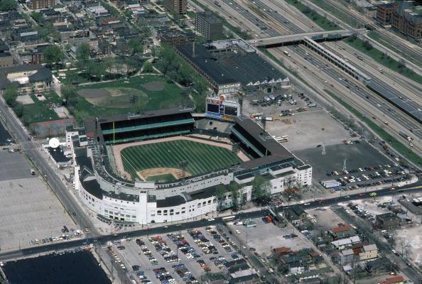 野球「Aerial View Of Comiskey Park」:写真・画像(11)[壁紙.com]