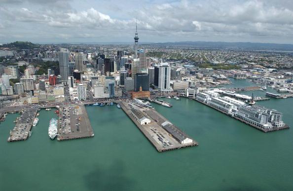 絶景「Aerial View. Auckland Harbour and the CBD.」:写真・画像(4)[壁紙.com]