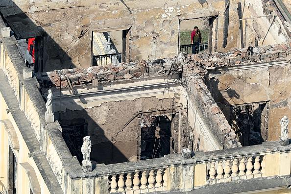 Brazil「Fire Destroys Iconic National Museum of Brazil」:写真・画像(15)[壁紙.com]