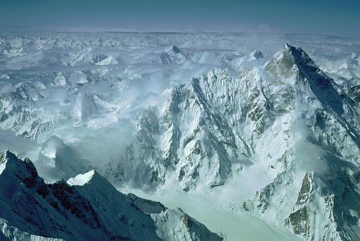 Himalayas「Aerial View of Masherbrum」:スマホ壁紙(0)