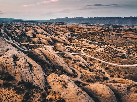 Extreme Terrain「aerial view of moab landscape」:スマホ壁紙(8)