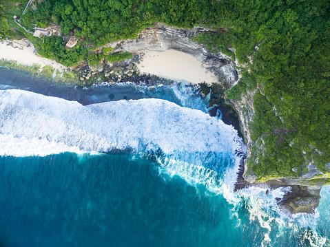 バリ島「空から見たビーチバリで」:スマホ壁紙(2)