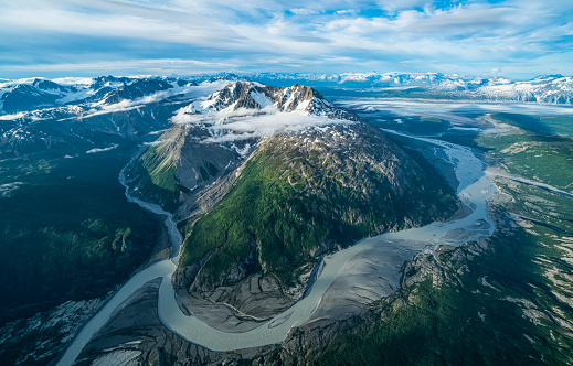 UNESCO「Aerial view of the glaciers and mountains of Kluane National Park and Reserve, near Haines Junction」:スマホ壁紙(16)