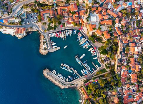 Antalya Province「Aerial View Of Antalya Harbour (Kaleici)」:スマホ壁紙(6)