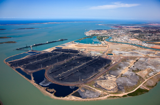 Queensland「Aerial view of Gladstone, Queensland.」:スマホ壁紙(13)
