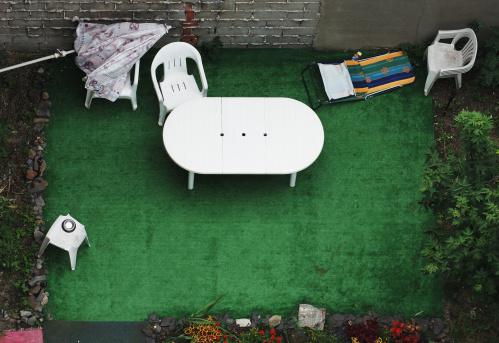 Umbrella「Aerial View of Patio Set」:スマホ壁紙(5)