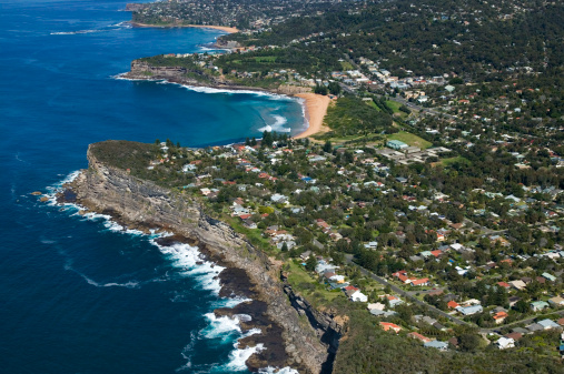 New South Wales「Aerial view of Avalon, New South Wales, Australia」:スマホ壁紙(13)