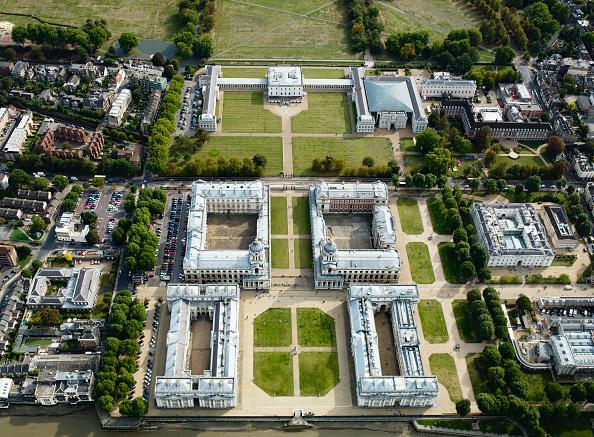 Tradition「Aerial view Royal Naval College Greenwich, London UK」:写真・画像(6)[壁紙.com]