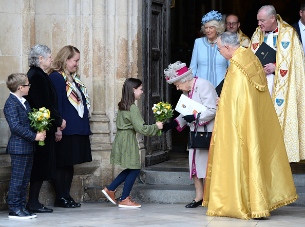 Westminster Abbey「The Queen And The Duchess Of Cornwall Attend A Service Marking  The 750th Anniversary Of Westminster Abbey」:写真・画像(19)[壁紙.com]
