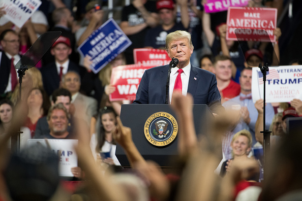MAGA「Donald Trump Holds MAGA Rally In Johnson City, Tennesee」:写真・画像(16)[壁紙.com]
