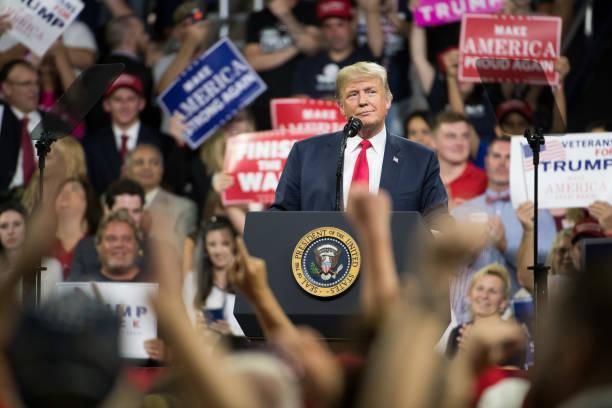 Donald Trump Holds MAGA Rally In Johnson City, Tennesee:ニュース(壁紙.com)