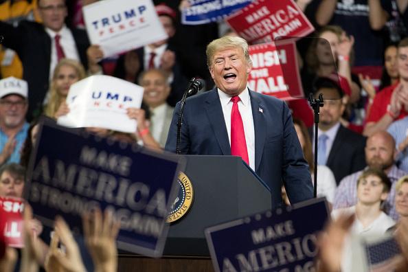 MAGA「Donald Trump Holds MAGA Rally In Johnson City, Tennesee」:写真・画像(16)[壁紙.com]