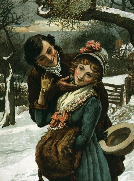 宿り木「Christmas Kiss」:写真・画像(3)[壁紙.com]