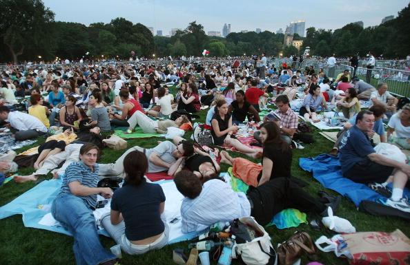 マンハッタン セントラルパーク「Central Park Hosts New York Philharmonic Performance」:写真・画像(6)[壁紙.com]