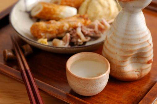 日本食「Sake and oden」:スマホ壁紙(19)