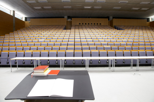 Guidebook「Lecture hall - empty, view from presenter」:スマホ壁紙(2)