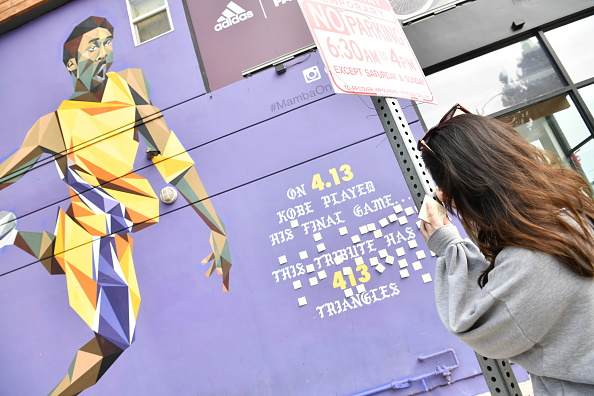Mural「Los Angeles Remembers NBA Star Kobe Bryant」:写真・画像(10)[壁紙.com]