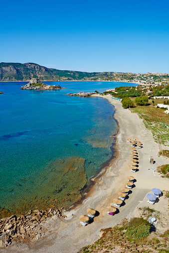 Aegean Sea「Greece, Dodecanese, Kos, Kefalos bay」:スマホ壁紙(1)