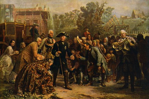 Prussia「'Friedrich der Große auf Reisen' (Frederick the Great on his travels) - painting by Adolf von Menzel, c. 1850.」:写真・画像(0)[壁紙.com]