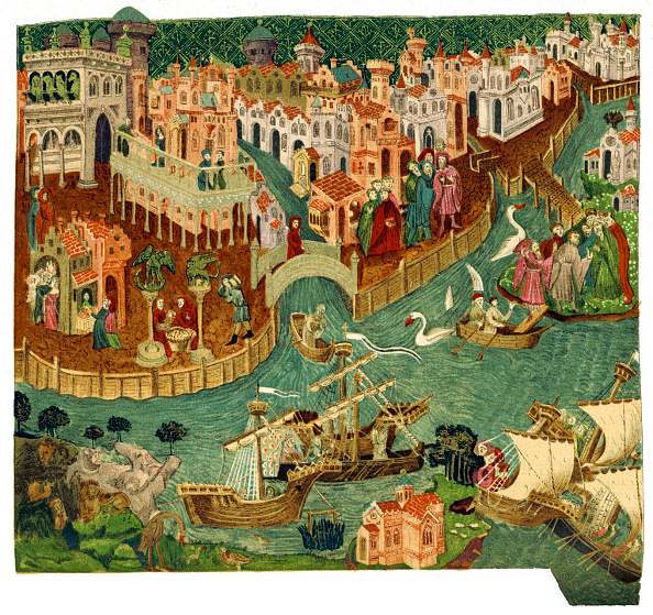 Circa 14th Century「Venice AD 1338 From」:写真・画像(5)[壁紙.com]
