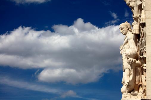 Arc de Triomphe - Paris「Sculpture on Arc De Triomphe」:スマホ壁紙(19)
