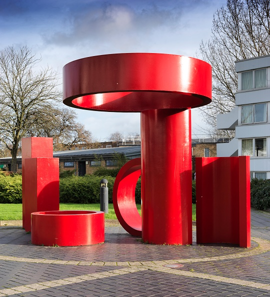 Geometric Shape「Sculpture Outside The Rootes Building」:写真・画像(16)[壁紙.com]