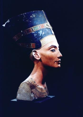 Ancient Civilization「Sculpture of Egyptian queen Nefertiti」:スマホ壁紙(15)