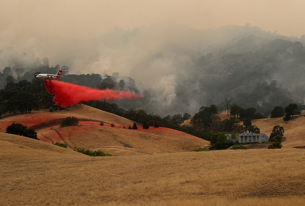 Wind「County Fire Burns Over 45,000 Acres In Remote Yolo County, California」:写真・画像(9)[壁紙.com]