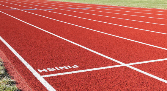 Finish Line「Red Running Track Inverted Finish Line」:スマホ壁紙(9)