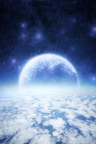 Planet Earth「Space travel」:スマホ壁紙(1)