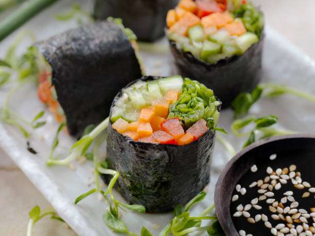 Seaweed Salad Rolls:スマホ壁紙(壁紙.com)