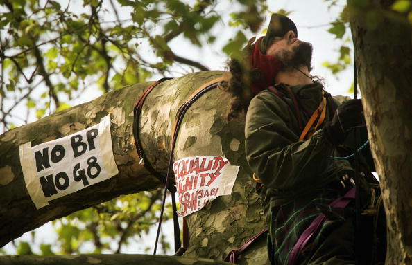 Plant Bark「Environmental Activists Protest Against British Petroleum」:写真・画像(18)[壁紙.com]