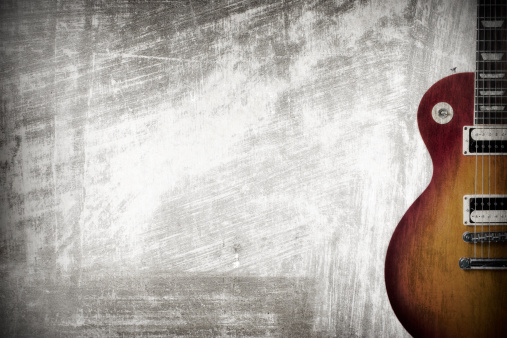 Rock Music「Guitar grunge」:スマホ壁紙(6)