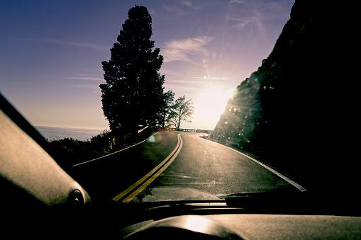 Big Sur「Curving Highway 1 near Big Sur」:スマホ壁紙(14)