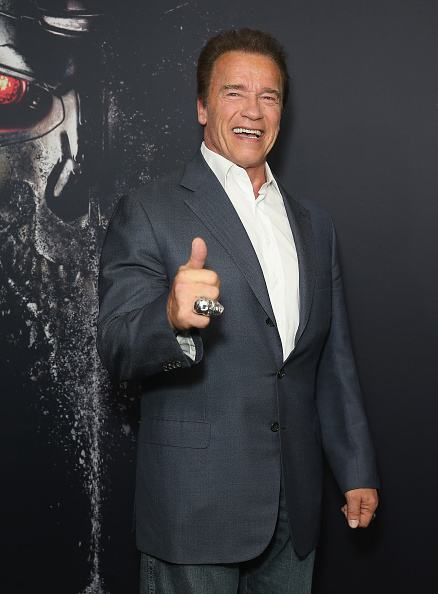 Arnold Schwarzenegger「Terminator Genisys Australia Screening - Arrivals」:写真・画像(8)[壁紙.com]