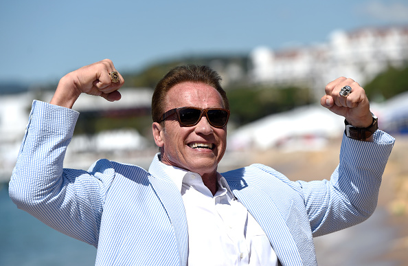 Arnold Schwarzenegger「Arnold Schwarzenegger and Jean-Michel Cousteau Photocall for 'Wonders of the Sea 3D'」:写真・画像(10)[壁紙.com]
