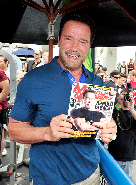 Healthy Eating「Arnold Schwarzenegger Hosts Special Body Building Experience At Muscle Beach Venice To Celebrate The Launch Of The Arnold Series」:写真・画像(5)[壁紙.com]