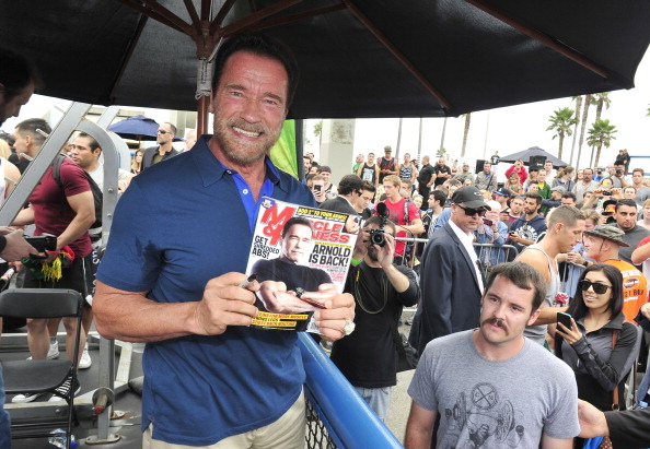 Healthy Eating「Arnold Schwarzenegger Hosts Special Body Building Experience At Muscle Beach Venice To Celebrate The Launch Of The Arnold Series」:写真・画像(6)[壁紙.com]