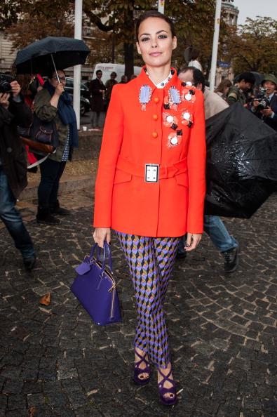 Purple Shoe「Miu Miu: Outside Arrivals - Paris Fashion Week Womenswear Spring / Summer 2013」:写真・画像(10)[壁紙.com]
