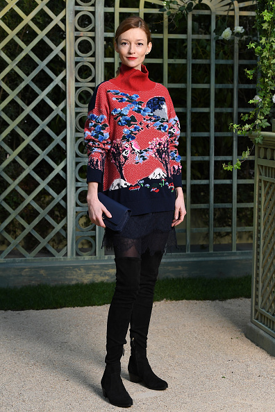 Paris Haute Couture Fashion Week「Chanel : Photocall - Paris Fashion Week - Haute Couture Spring Summer 2018」:写真・画像(13)[壁紙.com]