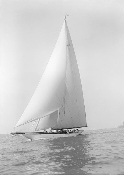 Cutting「The 23-Metre Cutter Astra Sailing Close-Hauled」:写真・画像(4)[壁紙.com]