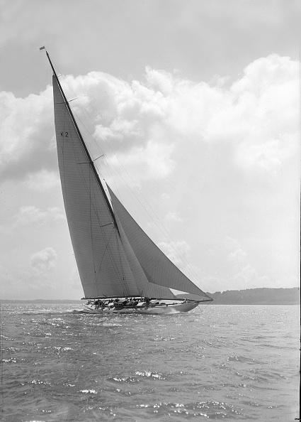 Cutting「The 23-Metre Cutter Astra Sailing Close-Hauled」:写真・画像(10)[壁紙.com]