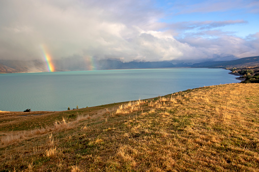 Mt Cook「Approaching storm over Lake Pukaki」:スマホ壁紙(15)